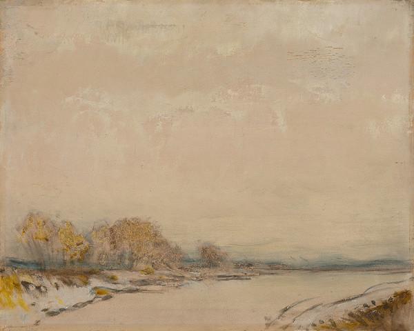 Ladislav Mednyánszky - Landscape with a River