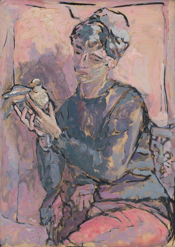 Lea Mrázová - Dove from Pompei
