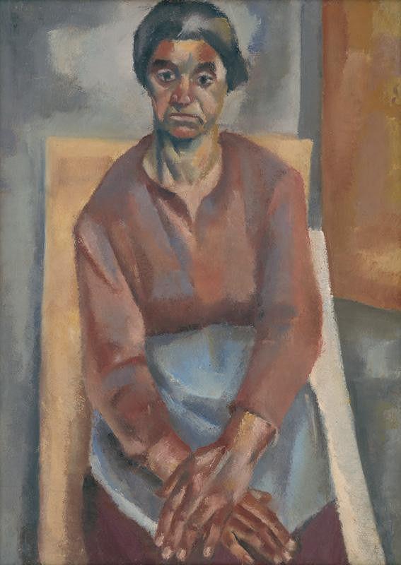 Ernest Zmeták – Study for a Portrait of a Woman