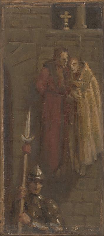 Milan Thomka Mitrovský - Sketch of Historical Composition II.