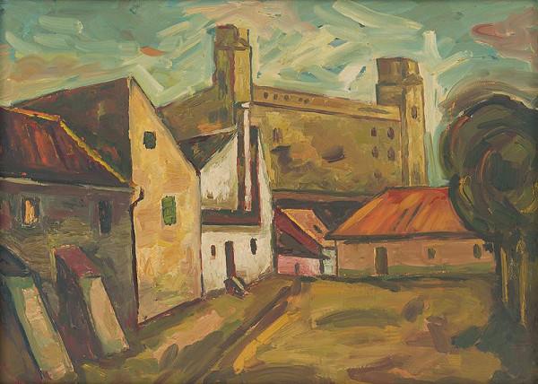 Ľudovít Kudlák - Below the Castle
