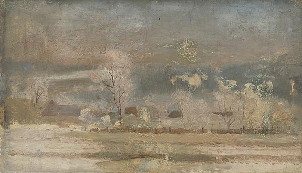 Ferdinand Katona – Winter Landscape
