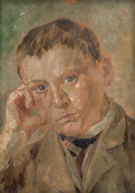 Milan Thomka Mitrovský - Portrait of a Boy