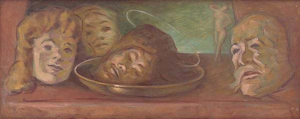 Milan Thomka Mitrovský – Head of John the Baptist 'Salome'