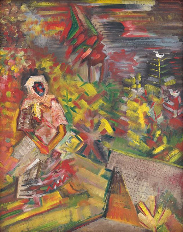 Arnold Peter Weisz-Kubínčan – Peasant Woman
