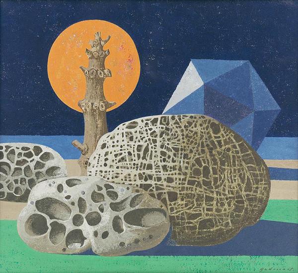 Ladislav Guderna – Rocky Landscape
