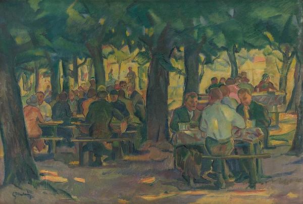 Gustáv Mallý - Rest beneath the Trees