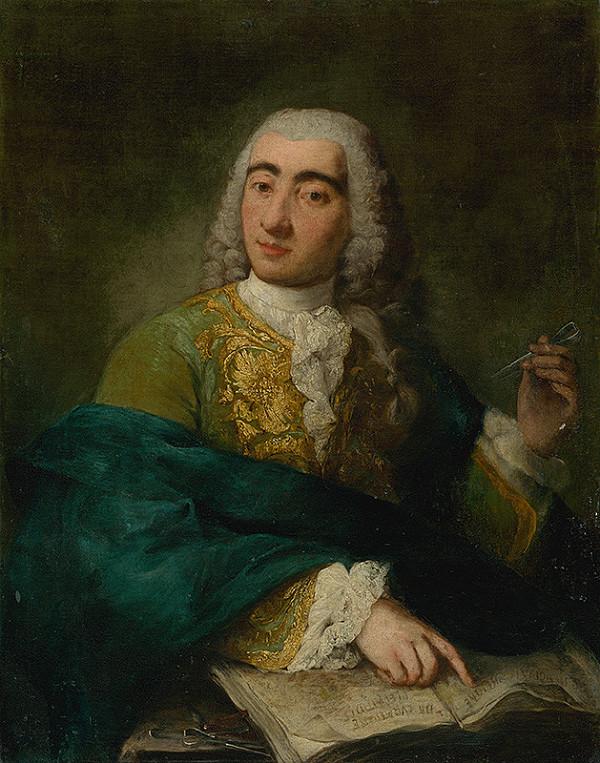 Alessandro Longhi, Benátsky maliar z polovice 18. storočia – Portrait of a Physician