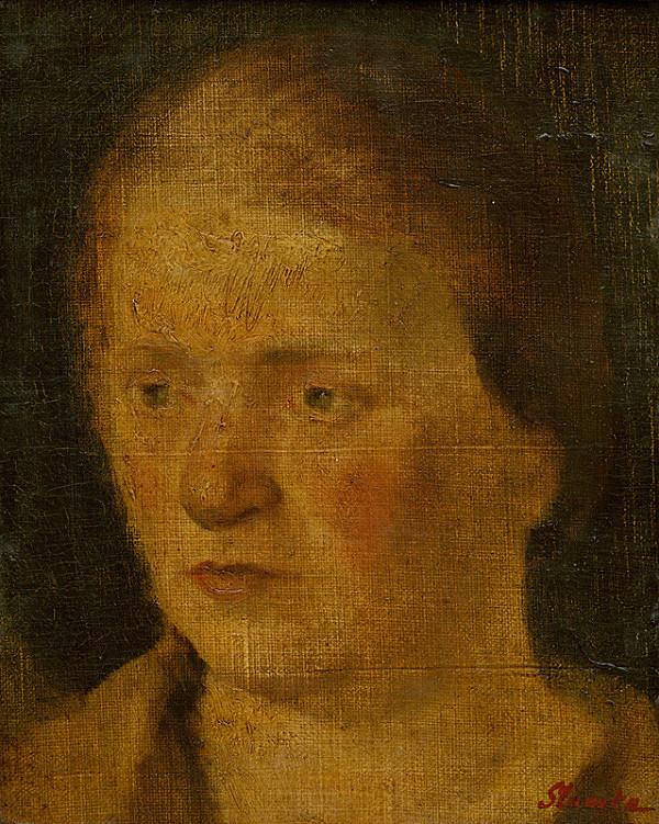 Ľudovít Slamka – Woman's Head