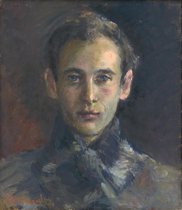 Viera Žilinčanová - Portrait of Ernest Špitz