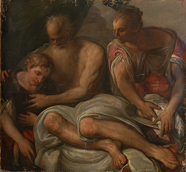 Benátsky maliar zo 16. storočia, Taliansky maliar zo 16. storočia - Religious Scene
