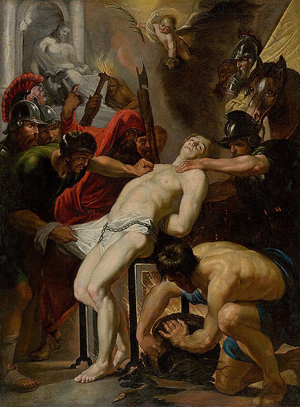 Peter Paul Rubens – Martyrdom of St. Lawrence