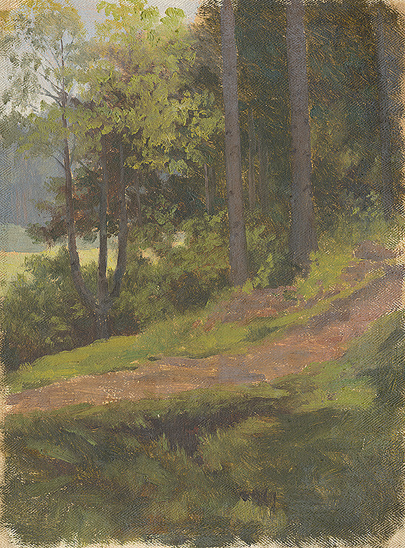 Jan Novopacký - Path on the Edge of the Forest