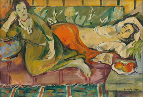 Eugen Nevan – Resting Women