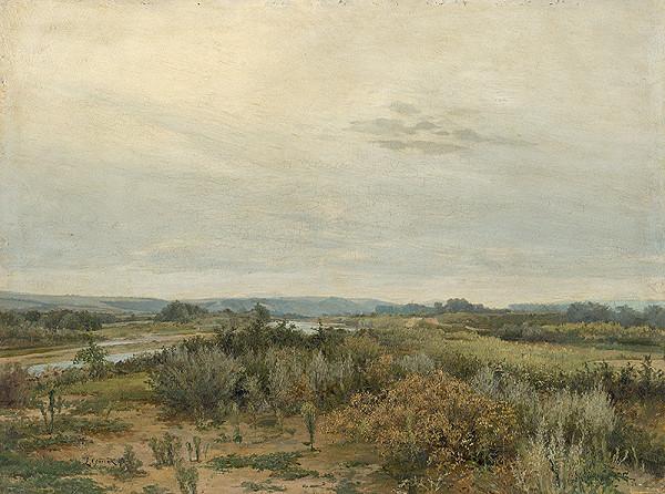 Ľudovít Čordák - East Slovak Landscape