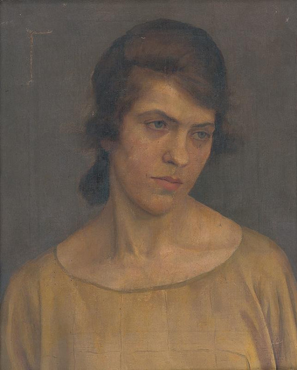 Ladislav Treskoň - Portrait of a Woman