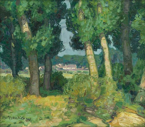 Martin Benka – South Moravian Landscape