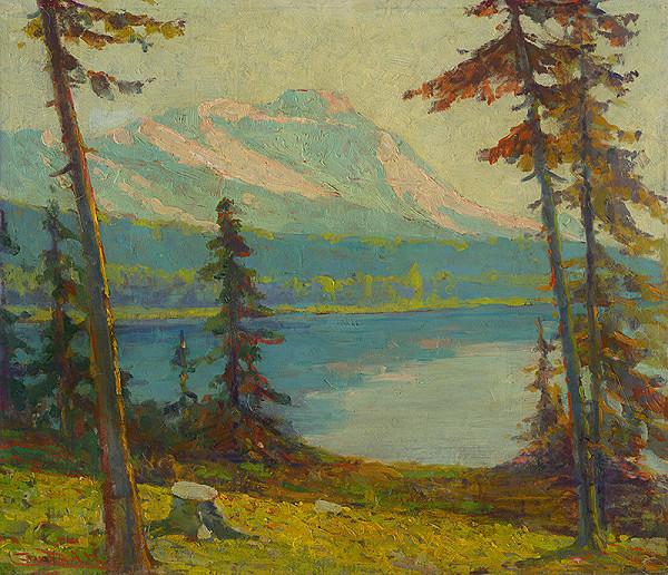 Ľudovít Čordák - Tatra Mountain Lake