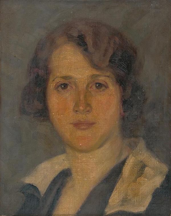 Andrej Kováčik – Portrait of the Artist's Wife