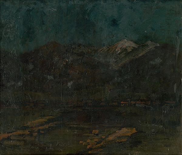 Ferdinand Katona – View of the High Tatras