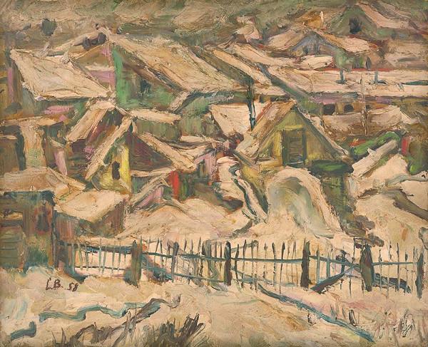 Ľudovít Bránsky – Landscape in Winter
