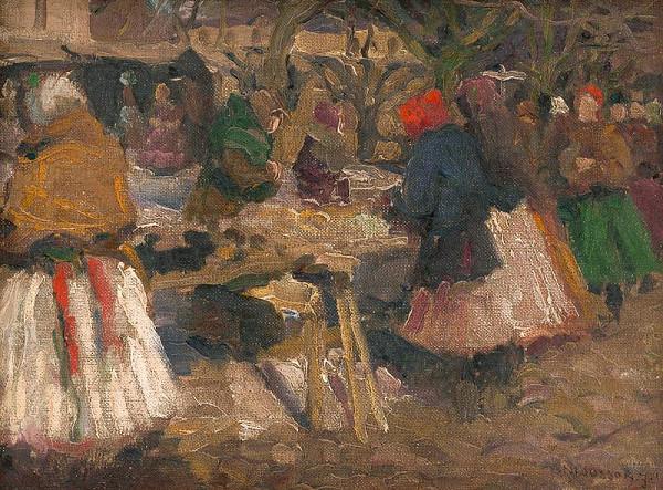 Jozef Theodor Mousson - Market