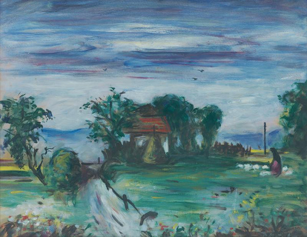 Peter Matejka - Landscape by the Váh