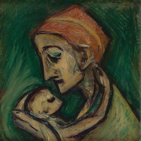 František Studený – Mother with Child
