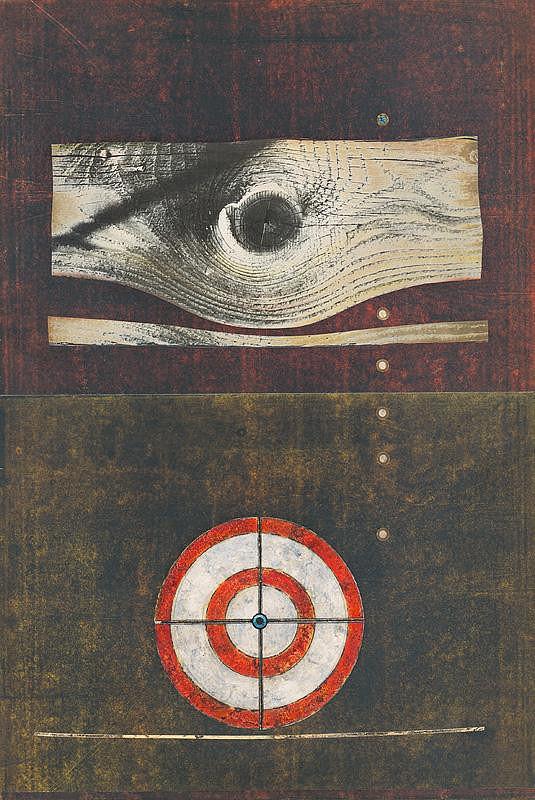 Andrej Barčík - Landscape with a Red Target