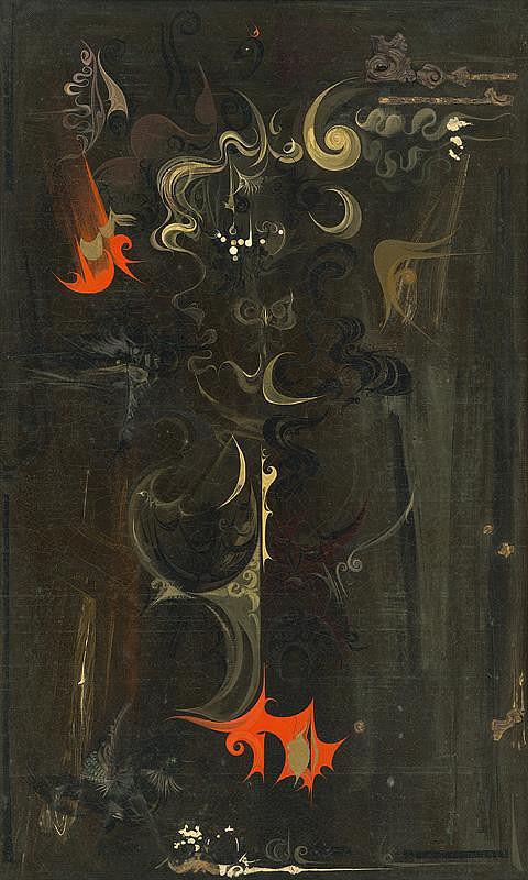 Ivan Vychlopen - Devil - From Cycle Tribute to A. Dürer