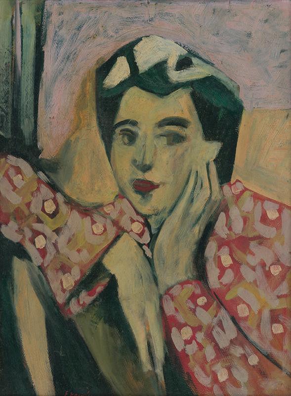 Eugen Nevan – Portrait of a Woman