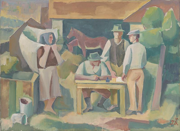 Ivan Šimko - Founding of an Agricultural Cooperative