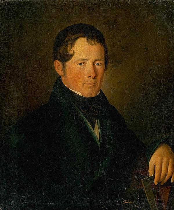 Stredoeurópsky maliar z 2. polovice 19. storočia - Portrait of a Builder