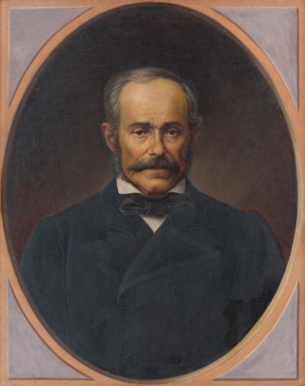 Peter Michal Bohúň – Portrait of a Gentleman