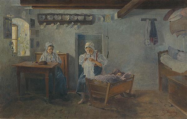 Gustáv Mallý – Above the Cradle