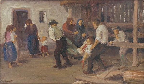 Jozef Bendík - Tragedy at the Sawmill