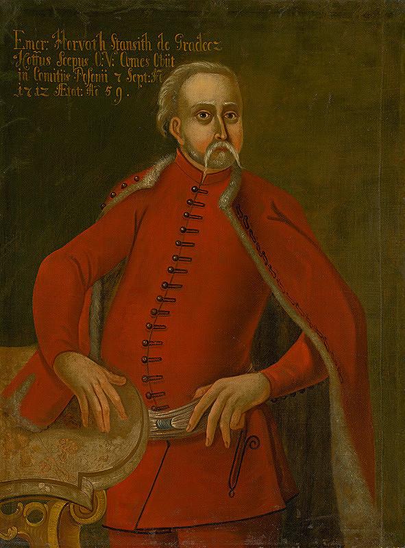 Slovenský maliar zo začiatku 18. storočia, Neznámy maliar – Podobizeň Imricha Horvátha-Stančiča