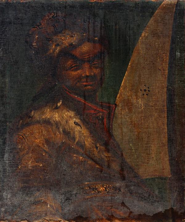 Stredoeurópsky maliar z 18. storočia – Portrait of a Black Man