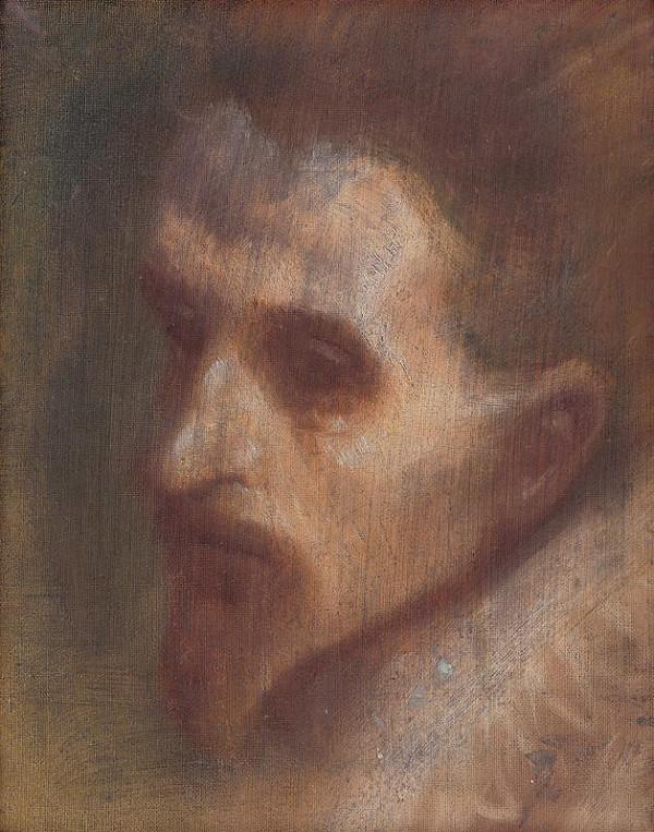 Ladislav Mednyánszky - Hlava mysliteľa