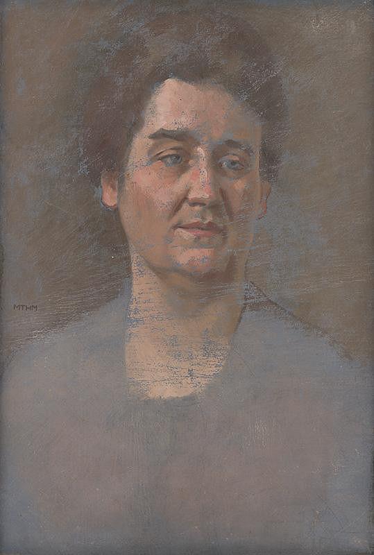 Milan Thomka Mitrovský - Portrait of M. Šuleková