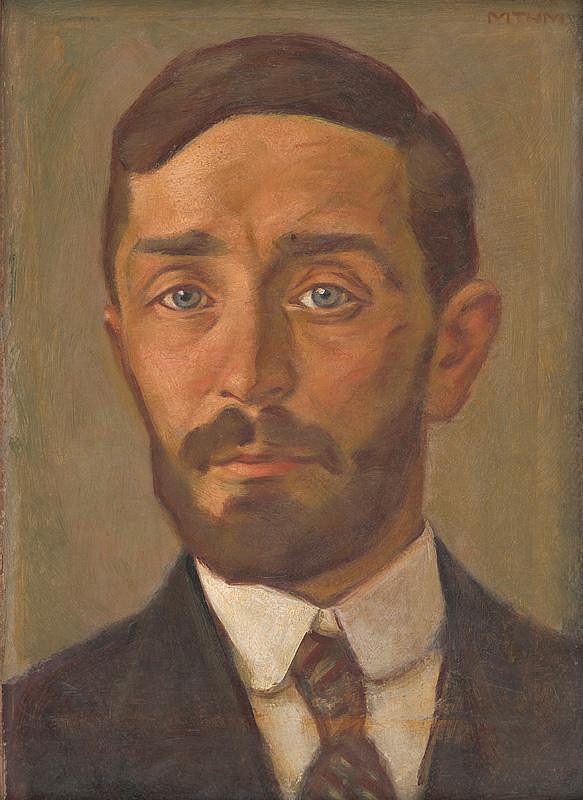 Milan Thomka Mitrovský - Self-Portrait