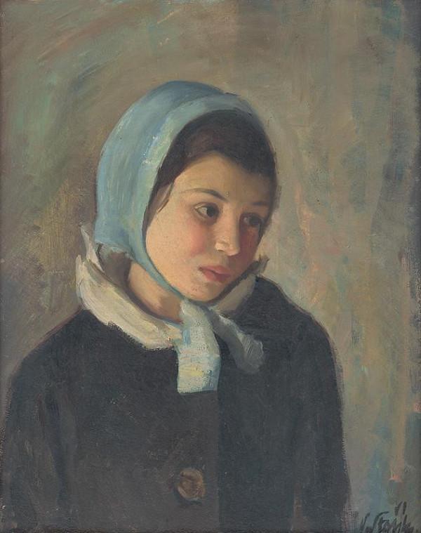 Vojtech Stašík – Portrait of a Child