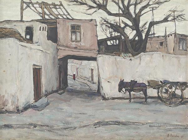 Viktor Nikolajevič Čulovič – Streets of Old Bukhara