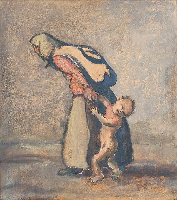 Ladislav Čemický – Mother with a Child