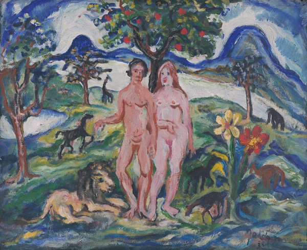 Július Jakoby – Adam and Eve