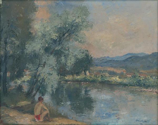 Eugen Lehotský - By the Hron