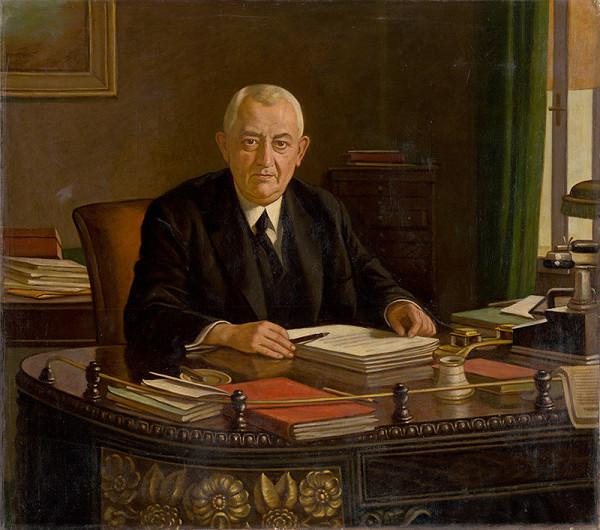 Milan Thomka Mitrovský - Portrait of Joseph Országh