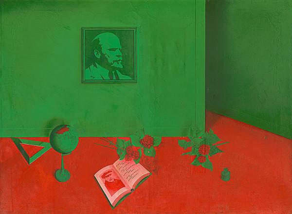 Michal Jakabčic - Tribute to V. I. Lenin