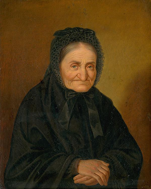 Peter Michal Bohúň - Portrait of an Old Woman