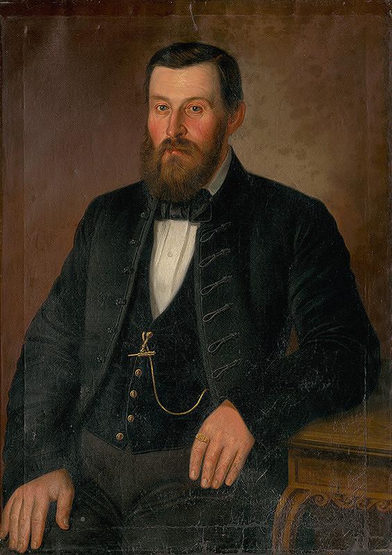 Peter Michal Bohúň - Portrait of Klein